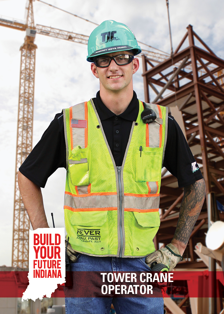 Tower Crane Operator - Indiana BYF: Build Your Future